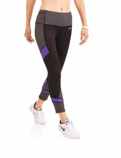 b264d05dfcd53 Avia Women's Active Performance 25″ Length Crop with Mesh Inserts ...