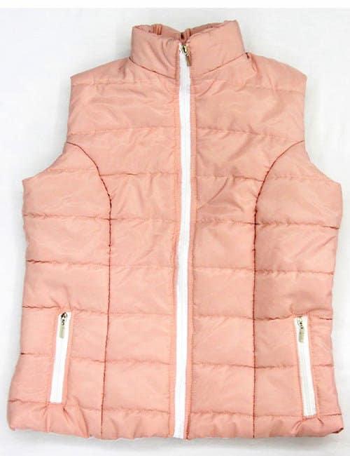 Pink Puff Vest