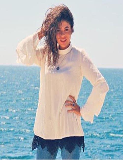 Layla Maher designs  Chiffon Blouse