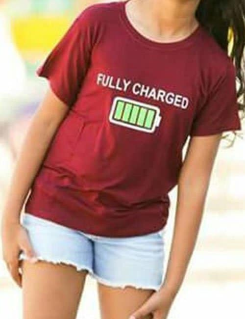 Girls Fully charged T-Shirt