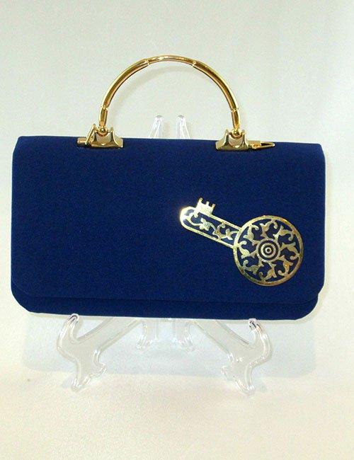 Blue classic bag