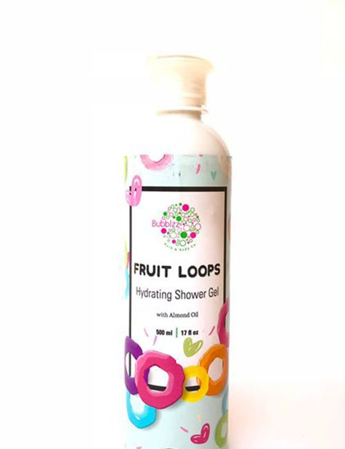 Fruit Loops shower gel with almond oil