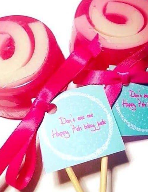 Lollipop Soap