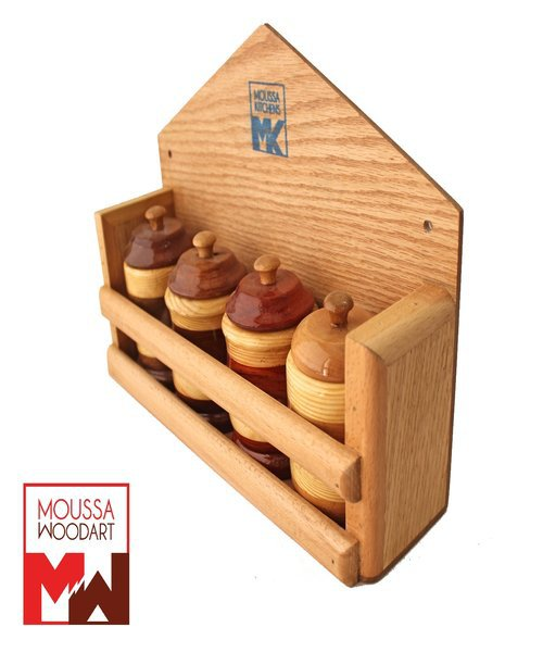 Wooden Spice set