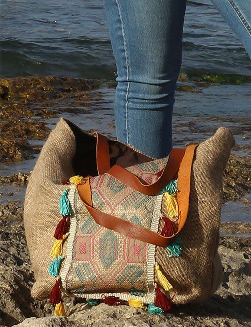 Her Bags Beach Bag