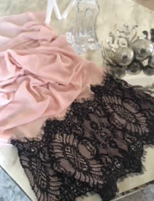 Pink scarve