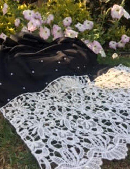 Black scarve