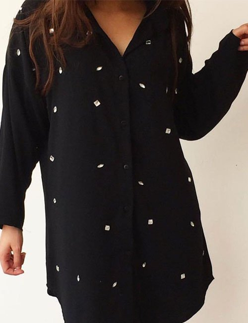 Struss Black Blouse