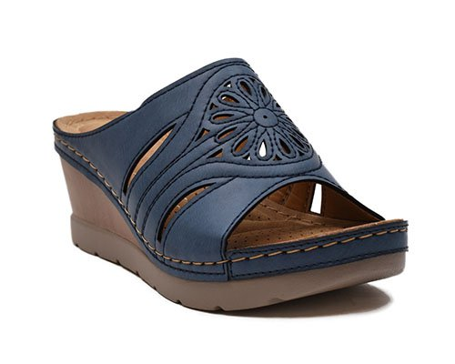 Open toe Wedge Sabo