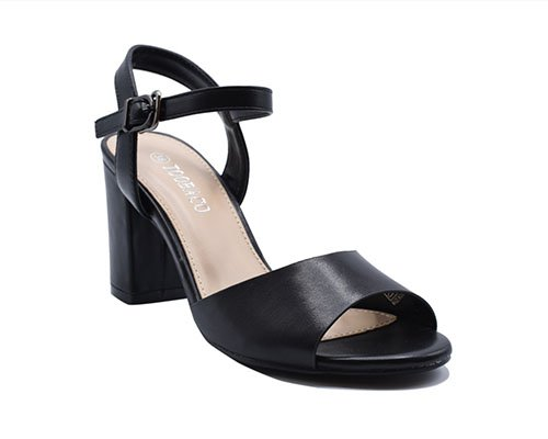 High block heels open toe sandls
