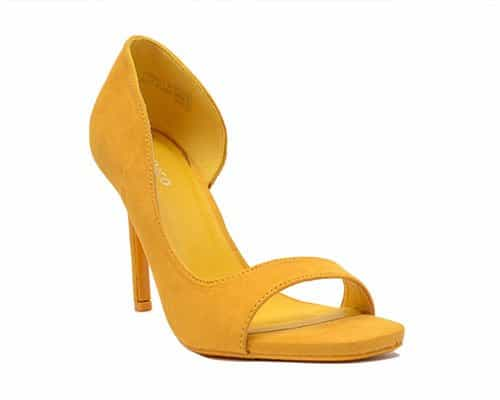 Cutout high heels shoe