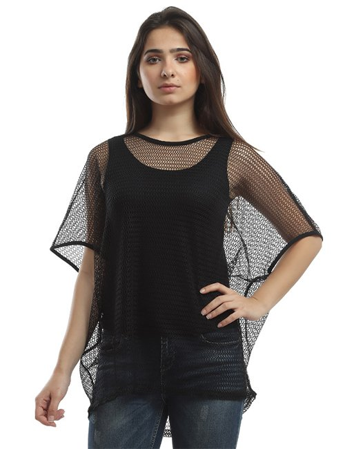 Fishnet Cover Up