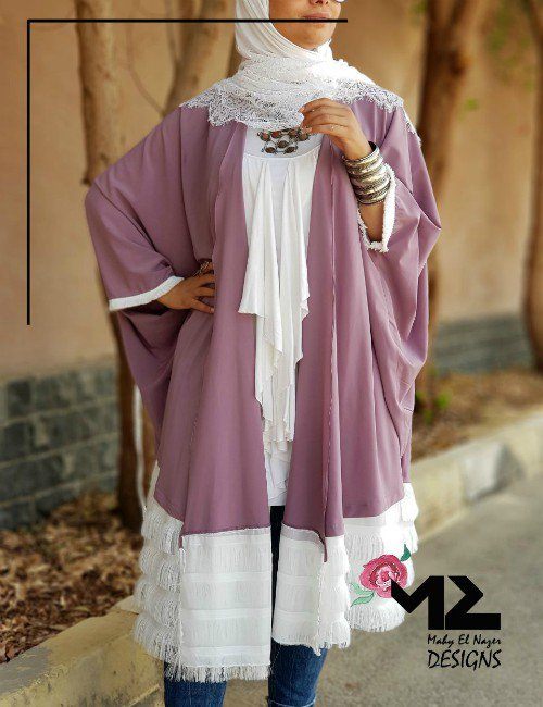 Dust Purple Kaftan