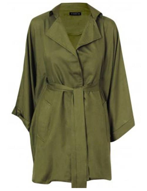 Flowy Trench Style Jacket/dress
