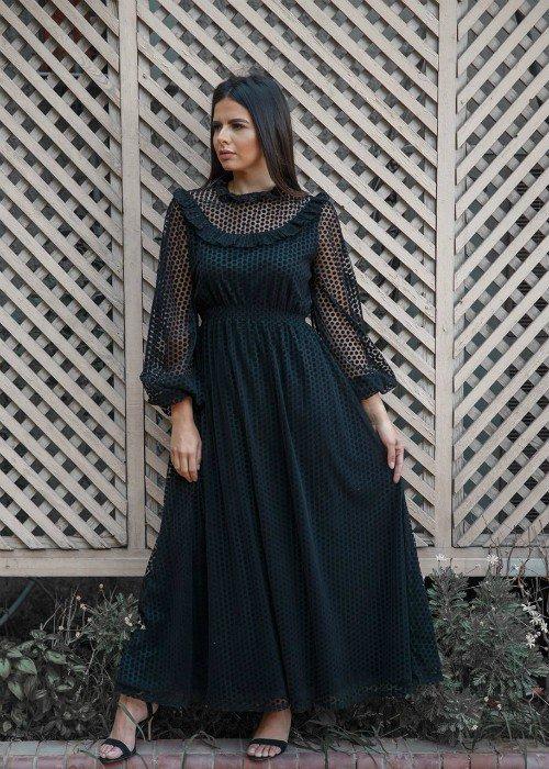 Polka Dots Tulle Dress