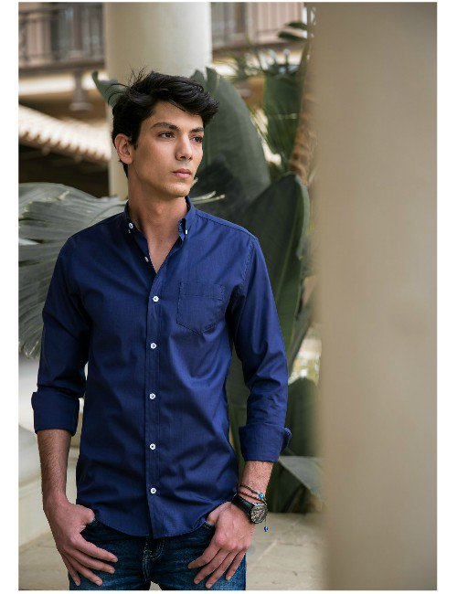 Navy Bule Shirt