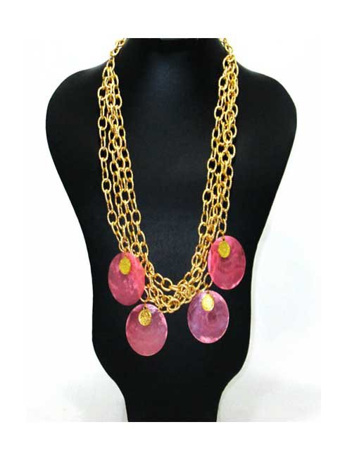 Rose coins Necklace