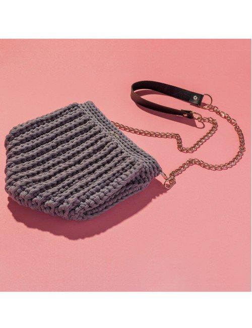 Grey Shell Bag