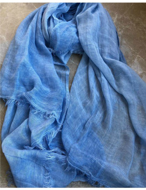 PLAIN LIGHT COTTON SCARF
