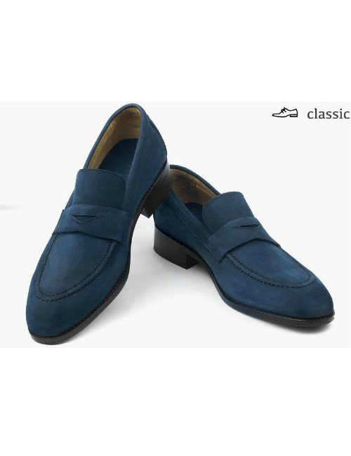 CLASSIC 04  SUEDE BLUE