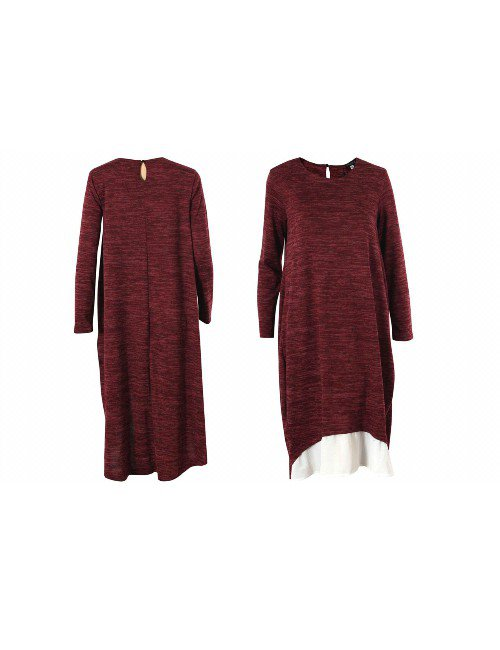 SOFT WOOL DRESS