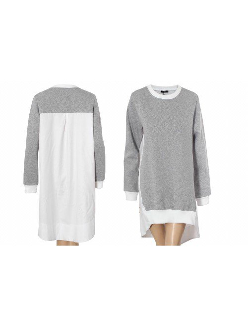 SHIRT BACK SWEAT SHIRT TUNIC