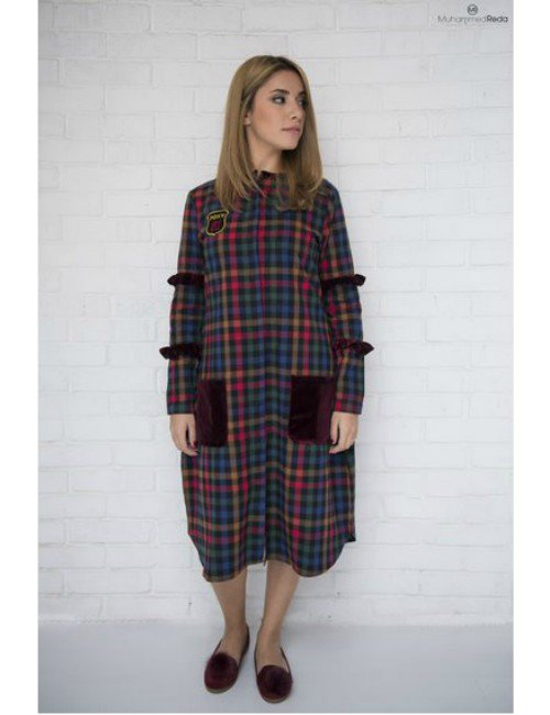 THE PLAID SHIRT DRESS