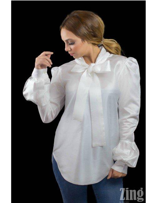 CLASSIC TRENDY  WHITE SHIRT
