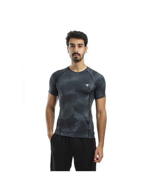 PATTERNED SOFT DRI-FIT MEN TSHIRT