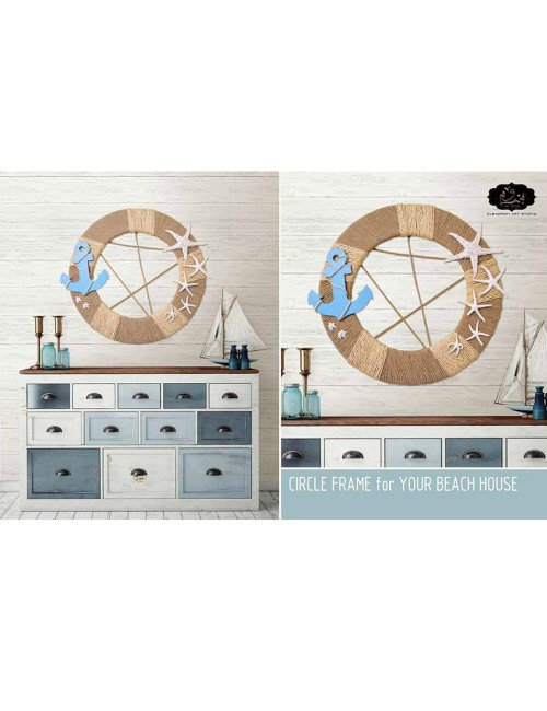 CIRCLE FRAME FOR YOUR BEACH HOUSE