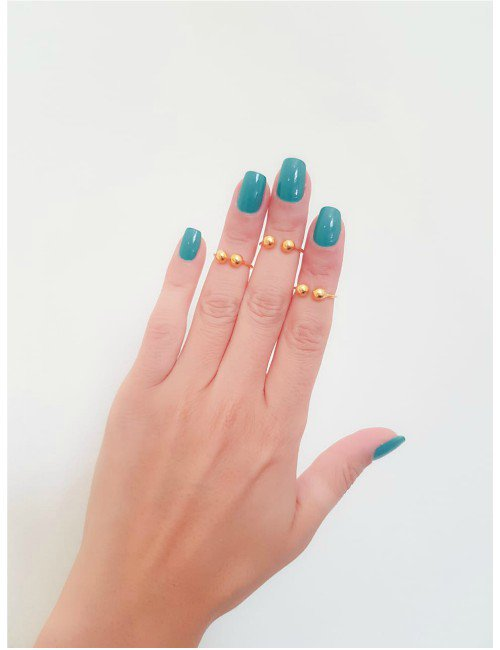 GOLD CIRCLE KNUCKLE