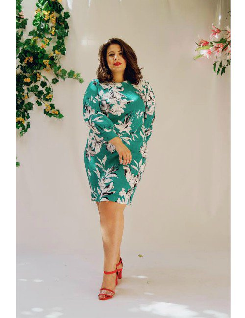 THE GREEN LILLY DRESS