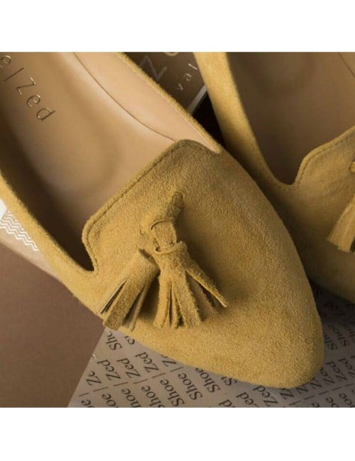 POINTED CLASSIC TASSEL FLAT LOAFERS