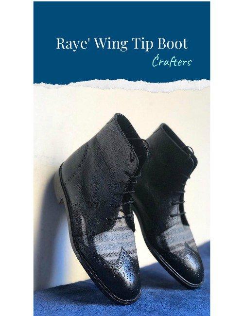 RAYE WING TIP BOOT