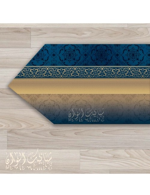 TABLE RUNNER  PRINTED LEATHER
