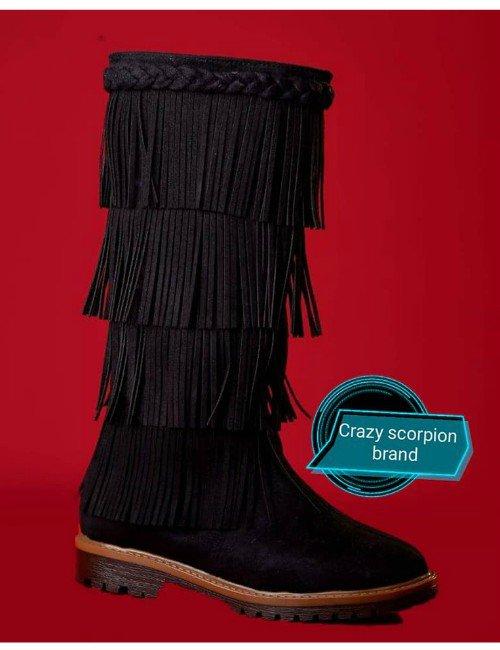 Black Tassels boots