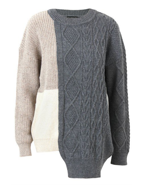 PATCHWORK PULL-OVER