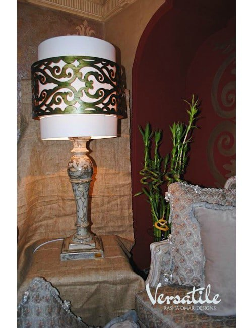 OUR GOLDEN- METAL- LAMP