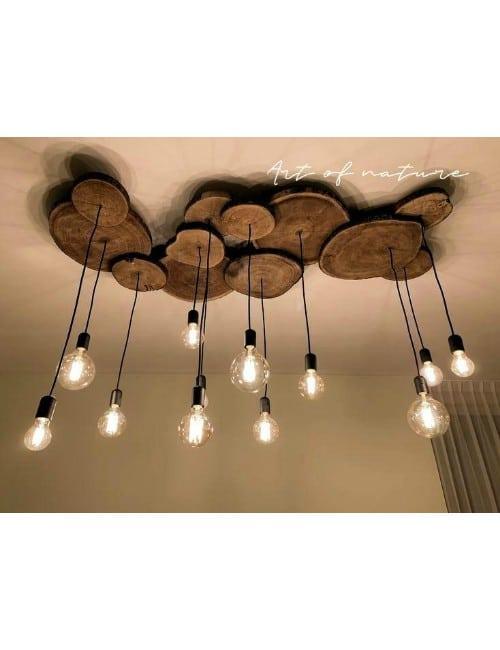 12 WOOD LAMP