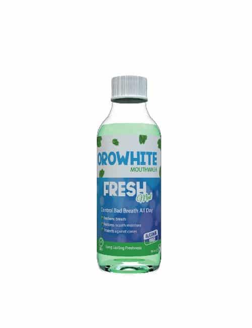 OROWHITE FRESH MOUTHWASH