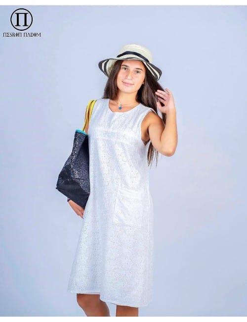 SHORT DRESS(WHITE)