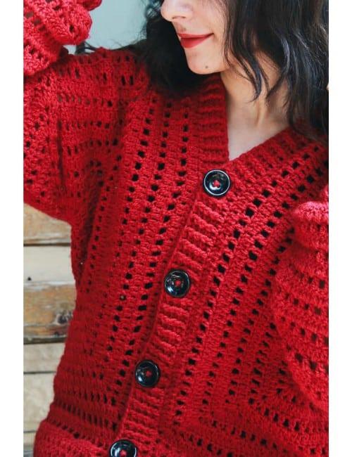 Lace Oversized Jacket