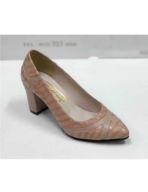 Lathered heels
