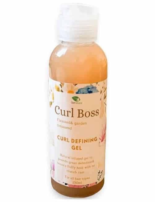 Curl Boss- Leave in Styling gel