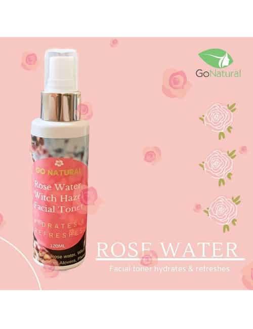 Rose Water & Witch Hazel Facial toner