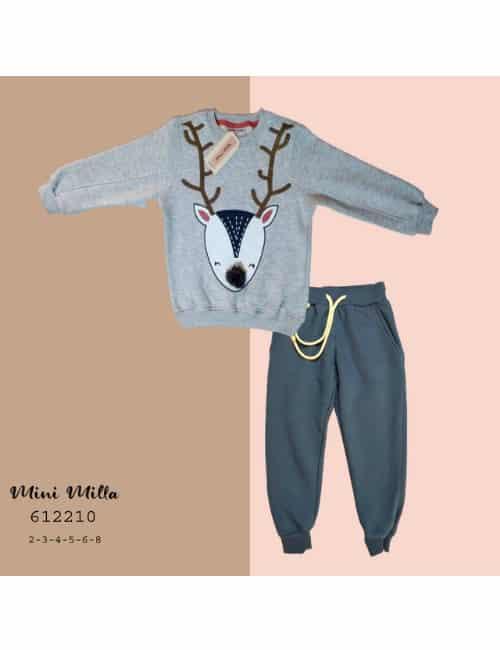 Grey mini milla