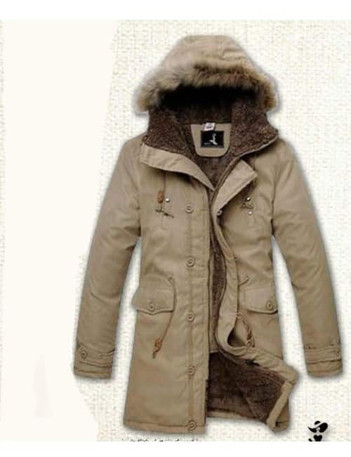 Fur jacket for men