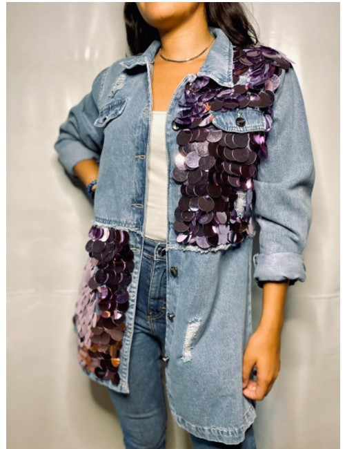 UNIQUE DENIM JACKET