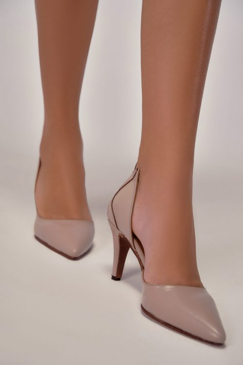 LOTUS NUDE 70MM HEELS