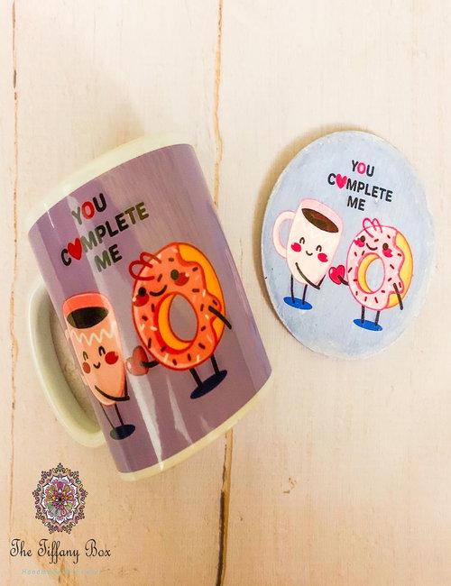 Mug With Coaster